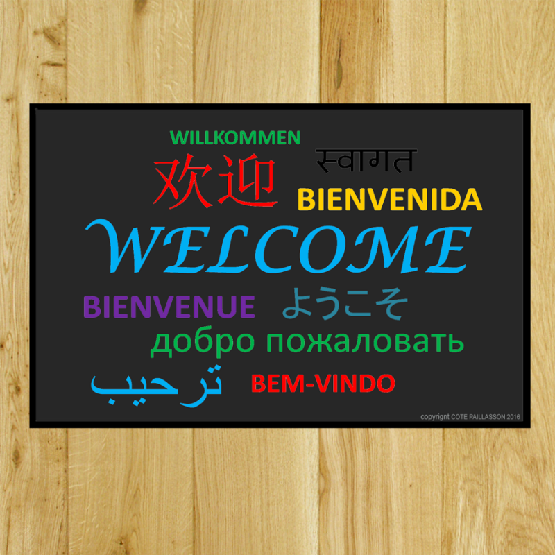 paillasson welcome 12