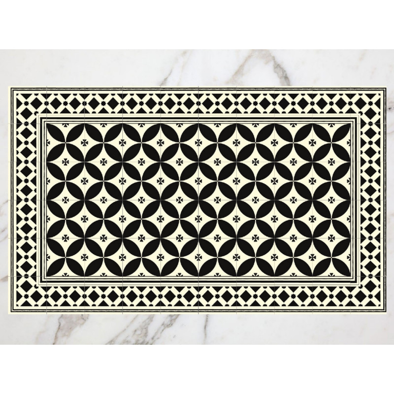 Tapis carreaux de ciment arles for Tapis vinyl carreaux ciment