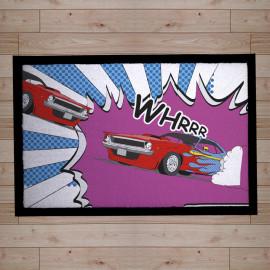 Paillasson décor voiture