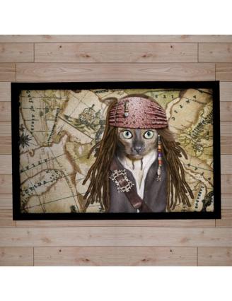 Paillasson Pets Rock pirate