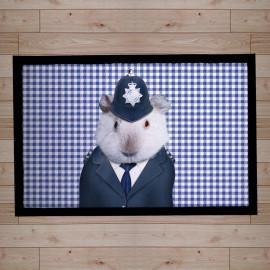 paillasson Pets Rock police