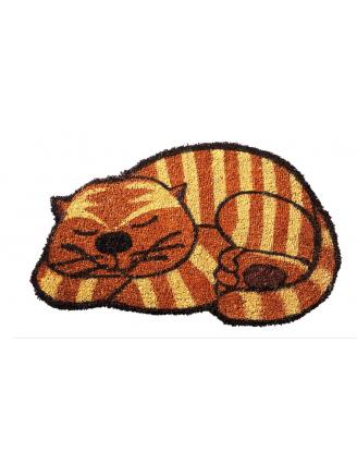 Paillasson coco Chat