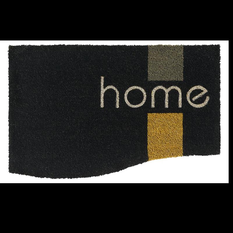 Paillasson Coco Design home BLACK