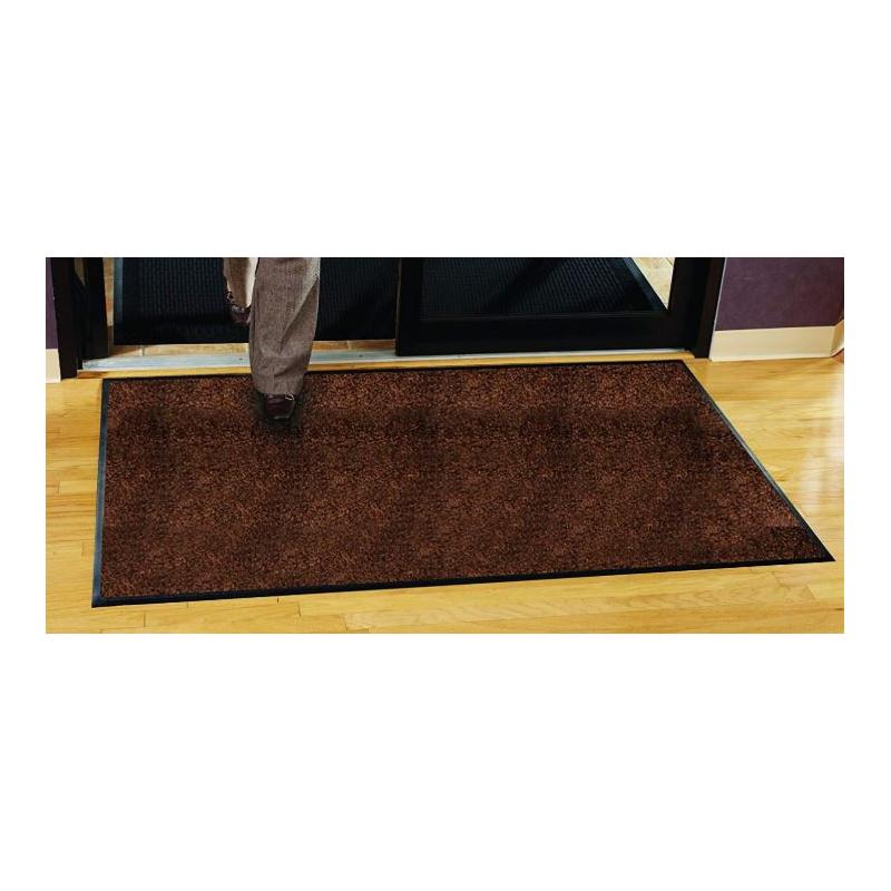tapis d'entrée cuivre, marron chiné, différentes tailles standard.