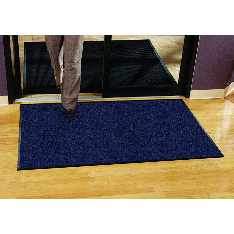 tapis d 39 entr e professionnel platinium bleu chin. Black Bedroom Furniture Sets. Home Design Ideas