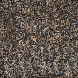 Paillasson Coton DELUXE Marron chiné 80 x 120 cm