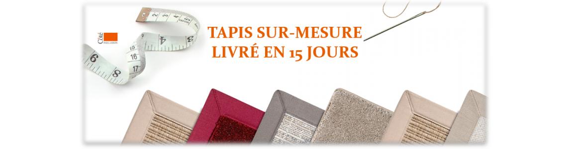 tapis sur mesure, tapis de couloir sur mesure ou tapis extérieur