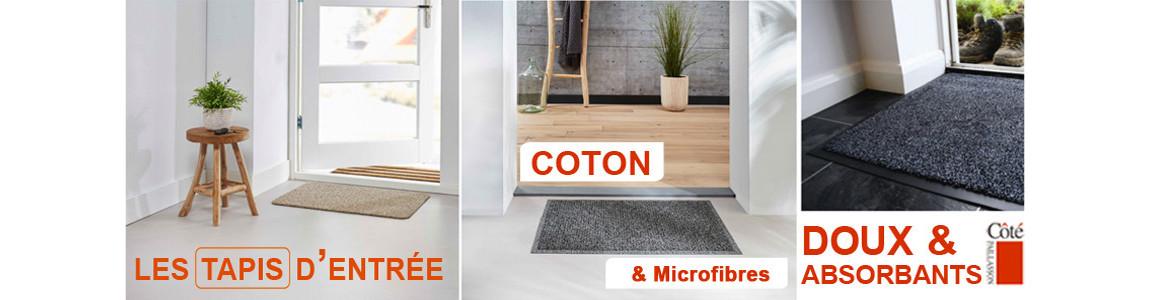 paillasson coton, solution efficace contre l'humidité et les saletés