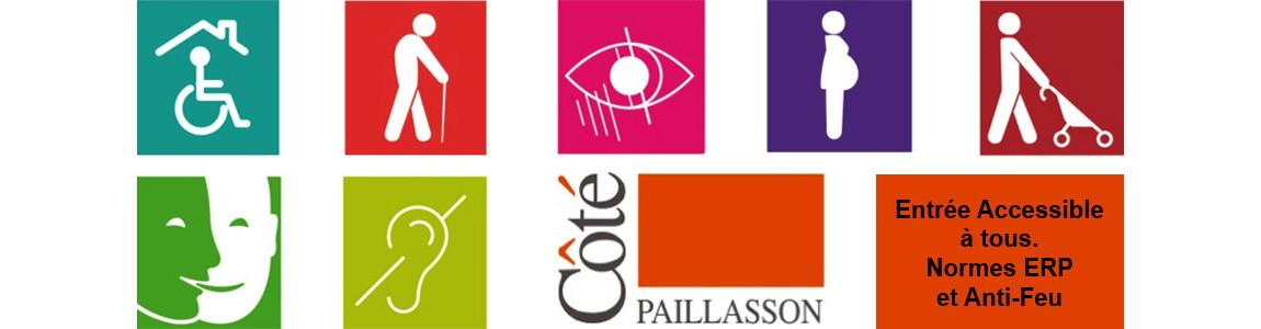 Le seul tapis Brosse Coco qui répond aux normes ERP et qui dispose d'un classement Feu. Issu de la R&D France.