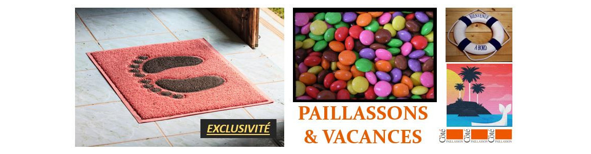 Le paillasson vacance, pour accueillir en couleur vos invités