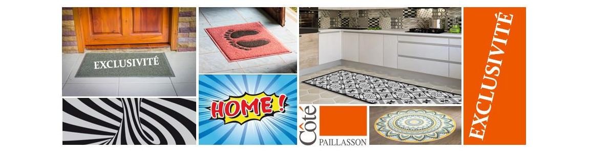 Paillassons et tapis d'entrée en exclusivité pour notre site !
