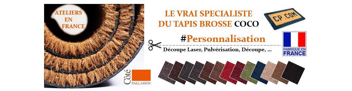 tapis brosse ou tapis coco, sur cotepaillasson.com