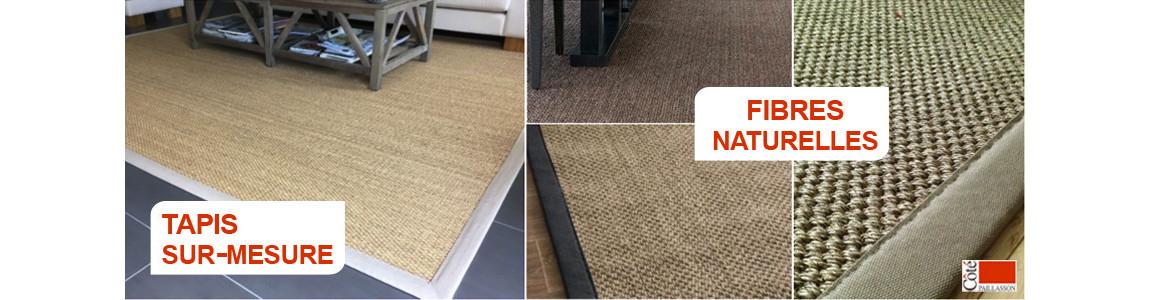 tapis sur mesure fibres naturelles, sisal, jonc de mer, tapis naturel
